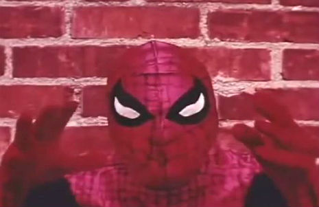Spider-Man meets Ed Wood in this loopy amateur fan film from 1969