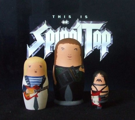 This is Spinal Tap nesting dolls