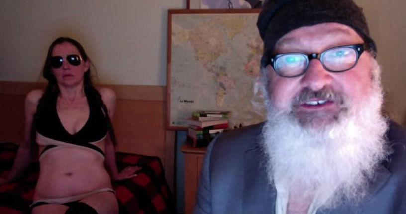 Nutzoid actor Randy Quaid has crazed meltdown over Rupert Murdoch in NSFW video rant