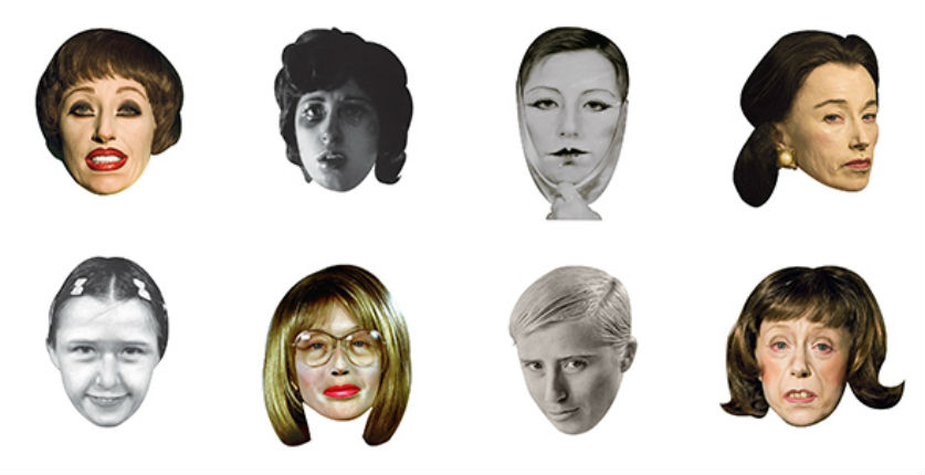 Express yourself with Cindy Sherman emojis
