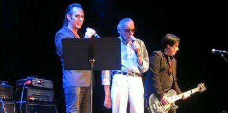 Stan Lee and Peter Murphy