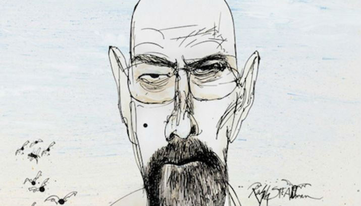 Walter White goes Gonzo: 'Breaking Bad' illustrations by Ralph Steadman