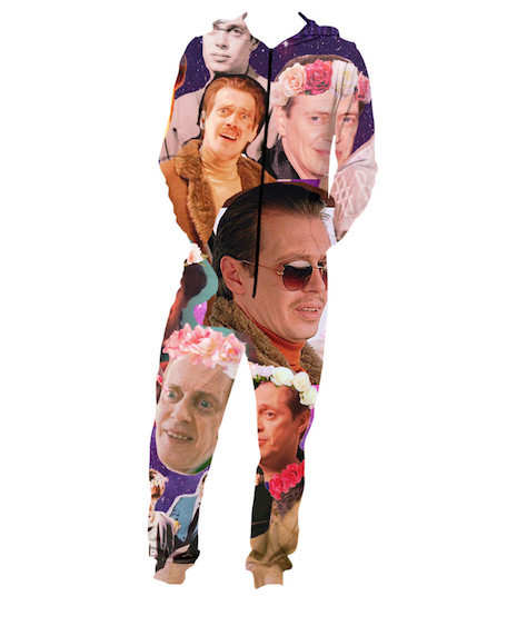 Steve Buscemi adult-sized onesie