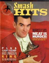 Morrissey's snide record reviews: Moz dumps on Cyndi Lauper, The Psychedelic Furs and XTC, 1984