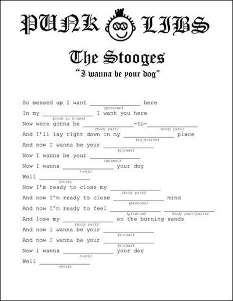 Complete the lyrics to