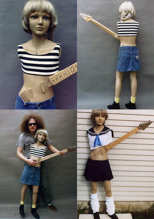 Teenar: una guitarra con forma de maniquí humano [WTF]