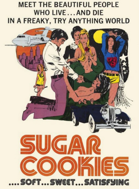 Vintage Poster for Sugar Cookies