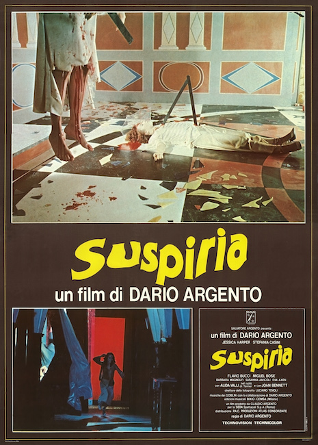 Suspiria movie poster (Italy)