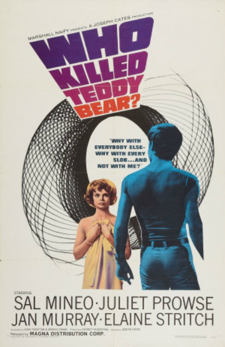 Who Killed Teddy Bear? Poster
