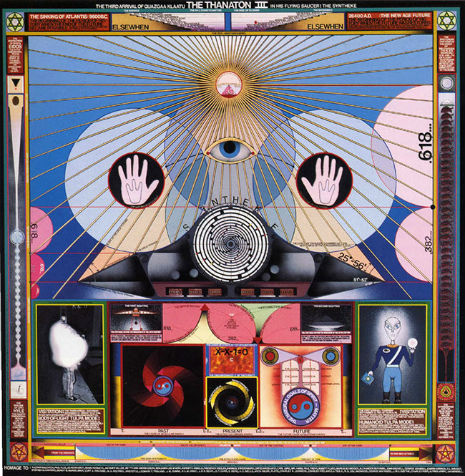 Paul Laffoley explains how to build a working time machine (and a house made entirely of plants)