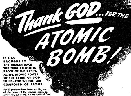 Evangelicals and the atom bomb: Are you ready for the great atomic power?