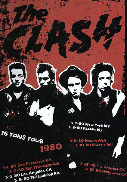 New Jersey Calling: The Clash rock the Garden State on the '16 Tons Tour,' 1980