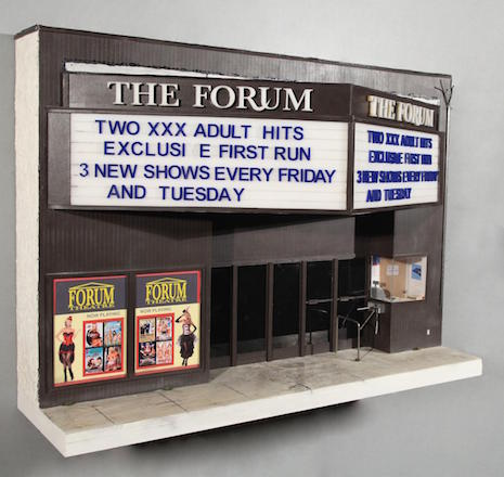 A miniature replica of The Forum