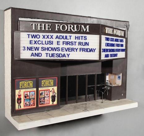 A miniature replica of The Forum