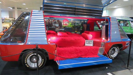 The interior of George Barris'