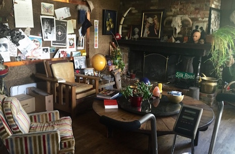The legendary living room at Hunter S. Thompson's Woody Creek estate, the Owl Farm