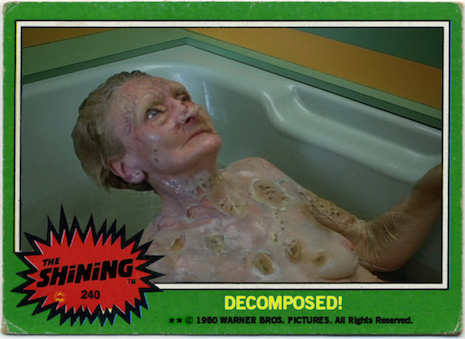 Decomposed The Shining Trading Cards