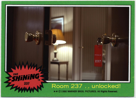 Room 237 The Shining Trading Cards