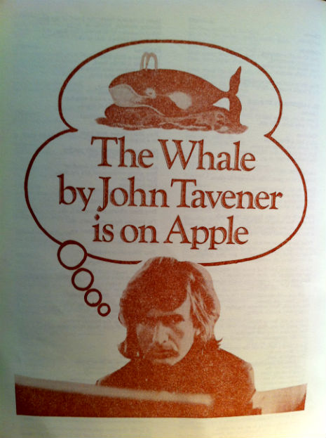 The Beatles present John Tavener's classical music curiosity, 'The Whale'