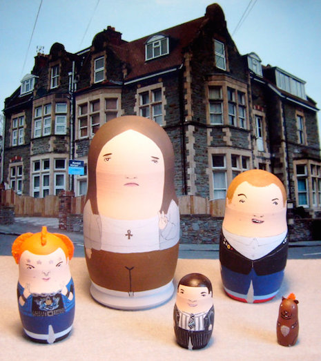 The Young Ones Russian nesting dolls