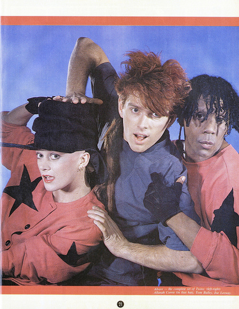 Thompson Twins Smash Hits November 24th, 1983