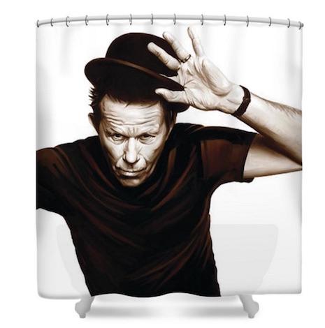 Tom Waits shower curtain