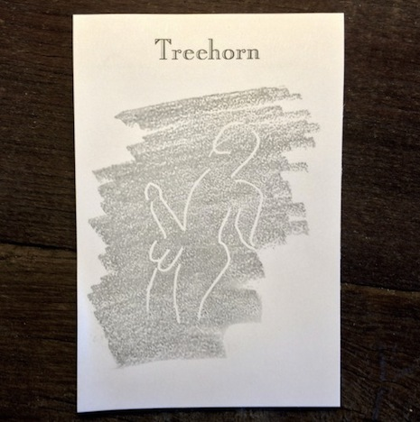 Treehorn doodle pad
