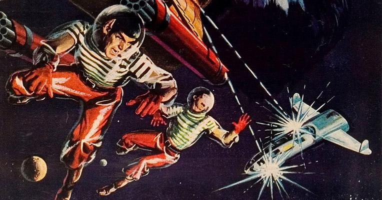 The marvelous cover art of the early 'Star Trek' comic books