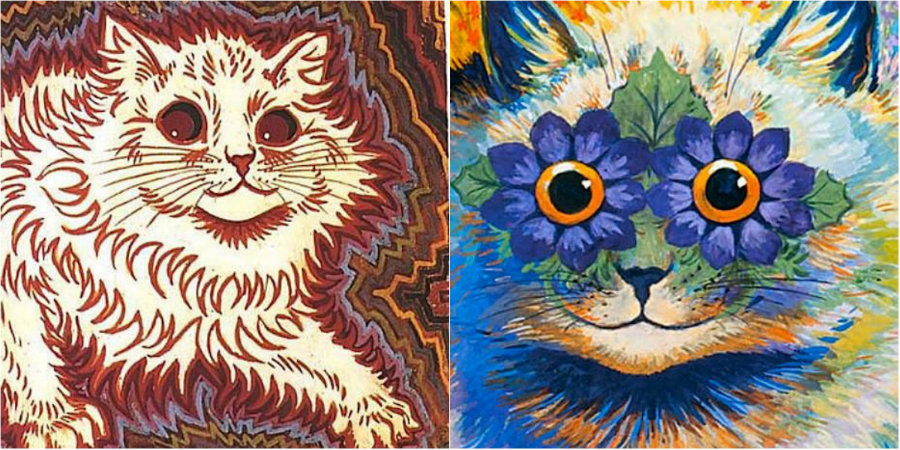 The psychedelic madness of Louis Wain's cats