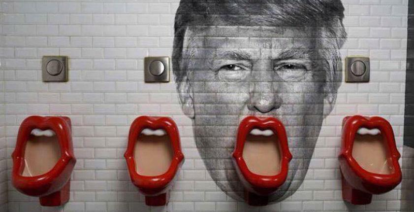 Donald Trump urinal