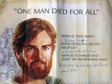 Kenny Loggins died for your sins!