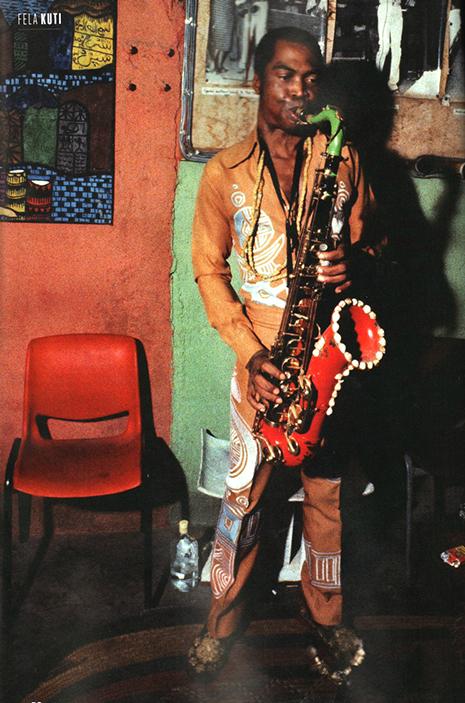 Fela Kuti Sax