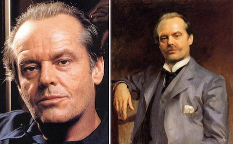 Celebridades contemporáneas insertas en obras maestras de la pintura