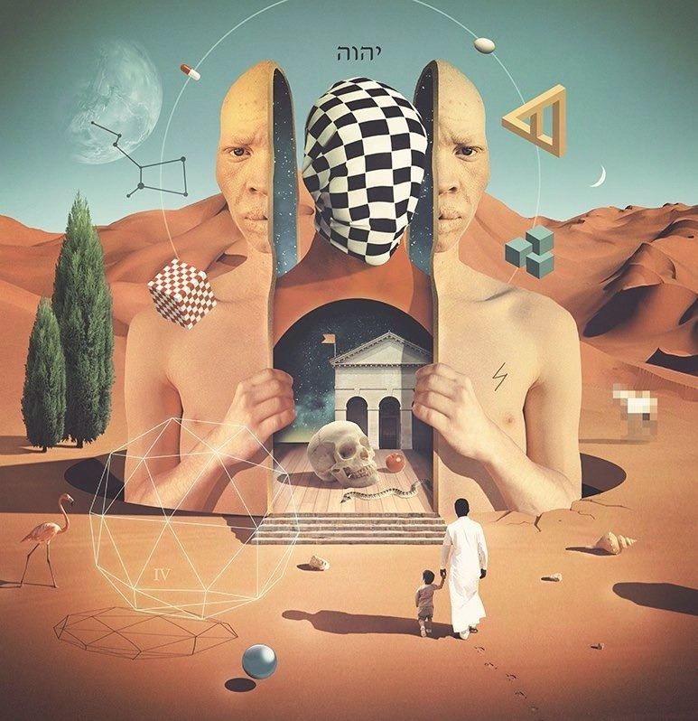 Trip out to the wild work of 'Karaska' the psychedelic surrealist from Kiev