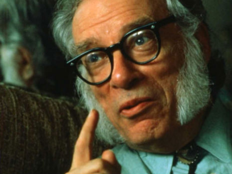 Rude & crude dude: Isaac Asimov's lecherous limericks