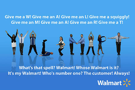 America circa 2013 in a nutshell: The 'Wal-Mart Cheer' is the most depressing thing you'll ever see