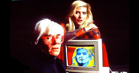 Debbie Harry, Ramones, Nick Rhodes, Courtney Love and more on MTV's 'Andy Warhol's 15 Minutes'