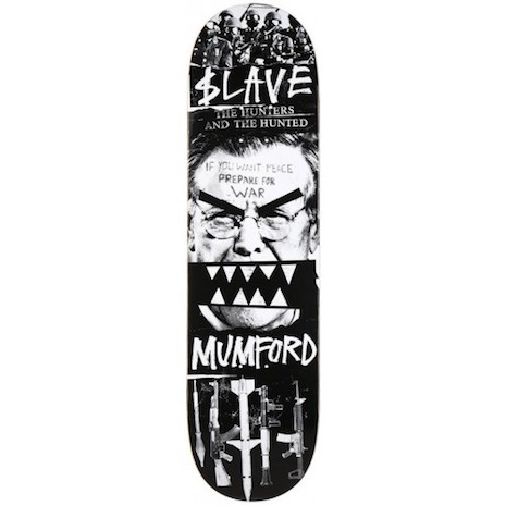 Warmonger skate deck
