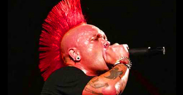 Punk's not dead, but… The Exploited's Wattie suffers onstage heart attack