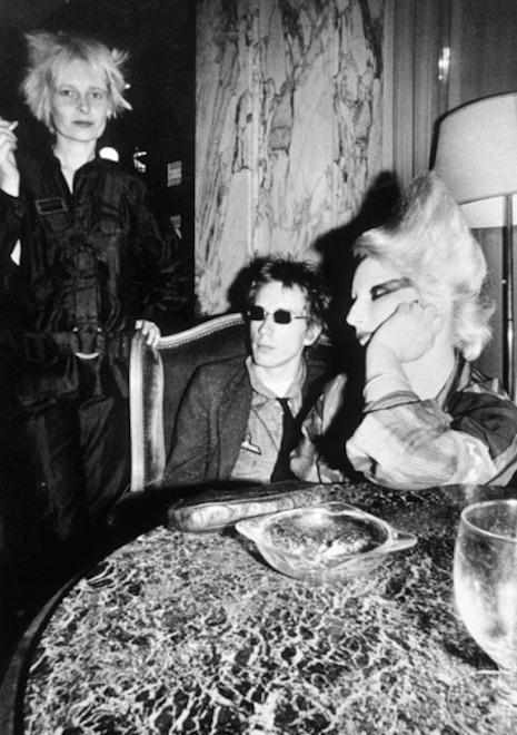 Vivienne Westwood, John Lydon and Jordan, 1976