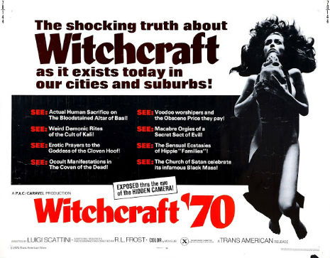 Black Candles & Other Satanic Delights: Welcome to 'Witchcraft '70'