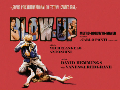 On directing 'Blow-Up': 'I am not God, but I am Michelangelo Antonioni'