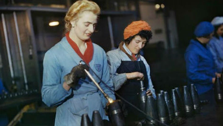Working Women: Portraits of WWII's female factory workers