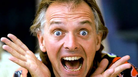 Rik Mayall's hilariously rude correspondence to fans