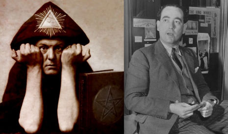 The socialist politician Aleister Crowley nominated as his successor