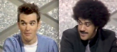 Morrissey vs. Phil Lynott is not as exciting as it sounds