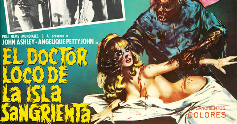 ¡Películas muy locos, ay caramba! The awesomely lurid art of Mexican B-movie lobby cards