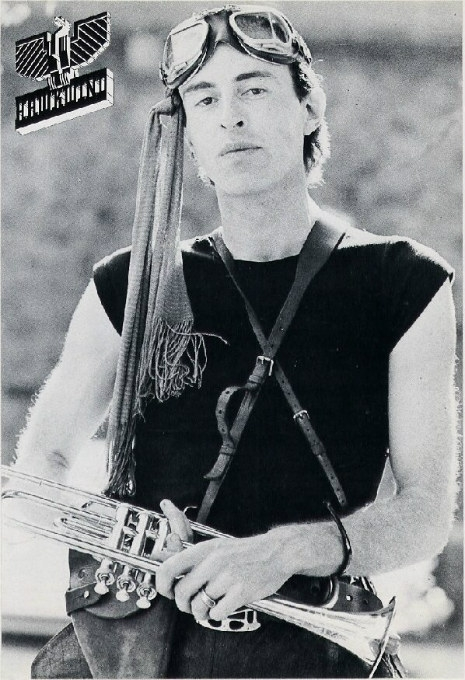 Robert Calvert during his time in Hawkwind.