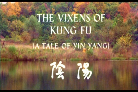 Title Screen for The Vixens of Kung Fu