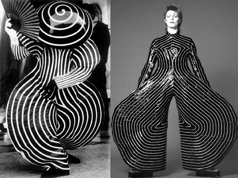 Bowie and Bauhaus